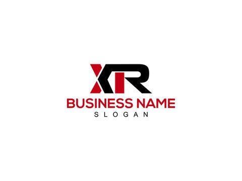 XR Letter Logo, xr logo icon vector for business