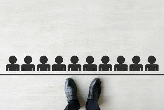 ビジネスイメージ―人間関係