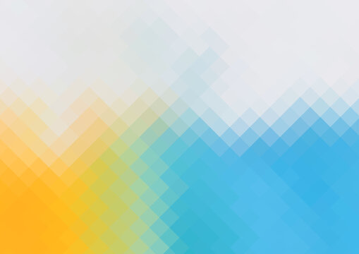 Abstract blue and yellow geometric background