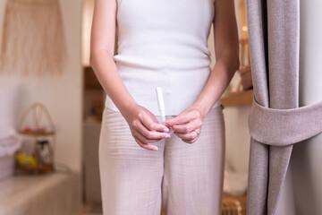 Fototapeta Sofy tampons with applicator regular,White menstrual,Soft tender protection for woman obraz