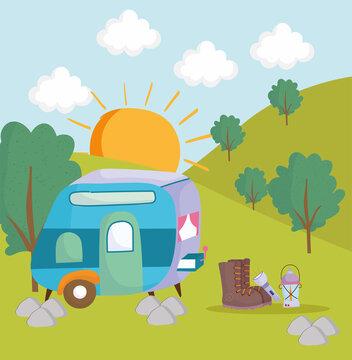 camping camper lantern