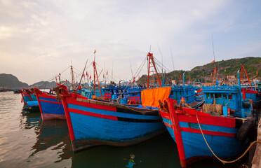 Fishing boat in Vietnam