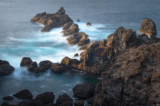 Punta de Juan Centellas cape, Tenerife Island, Spain