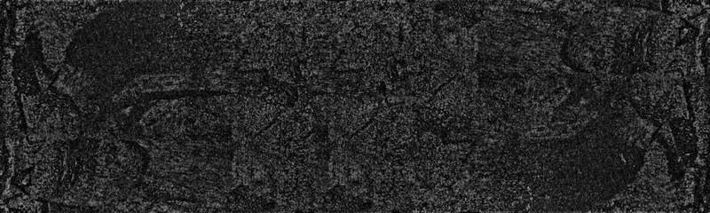 Obraz Black powder wide texture. Dark abstract background - fototapety do salonu