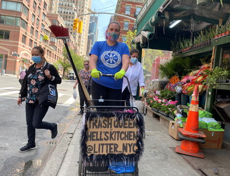 'Trash Queen of Hell's Kitchen' cleans up New York