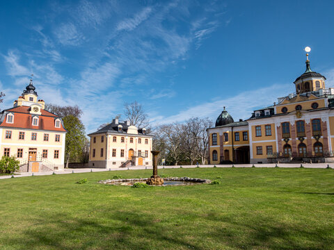 Schloss Belvedere bei Weimar in Ostdeutschland