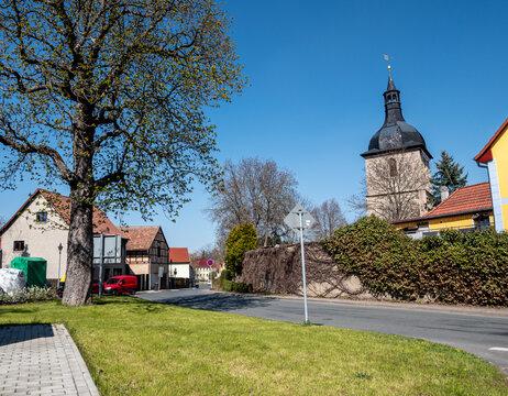 Altstadt von Magdala in Thüringen