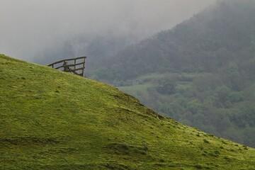 Fototapeta Góry w mgle obraz