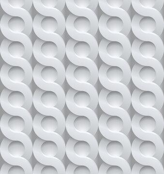 nahtlos Hintergrund, Tapete - geflochtener Zopf, Fliese, Stein, Kachel