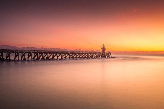coucher de soleil à cap breton