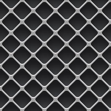 nahtlos Hintergrund, Tapete - Gitter, Maschendrahtzaun, Zaun, Absperrung