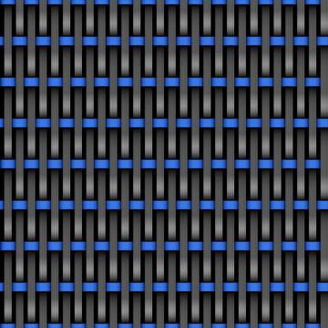 nahtlos Hintergrund, Tapete - Rattan, gewebte Struktur