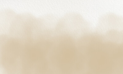 beige watercolor background on white canvas