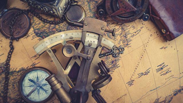Antique Measuring Instrument Tool
