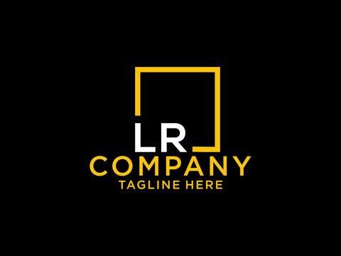 LR Initial, lr Letter Design For New Business