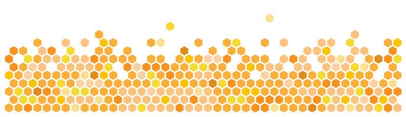 Hexagon / Honeycombs - fototapety na wymiar