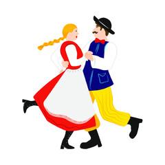 Fototapeta taniec wiejski obraz