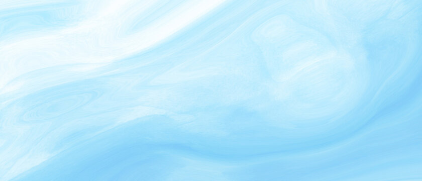 White and blue abstract watercolor background