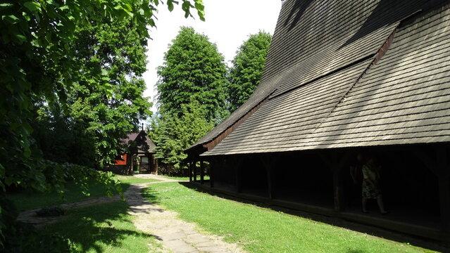 zabytkowy Kościół w Sękowej, Szlak Architektury Drewnianej w Małopolsce, zabytki sakralne w Polsce,