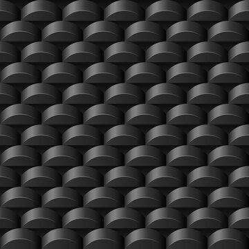 nahtlos Hintergrund, Tapete - Rollen, Balkon, Münzen, Kreise, Knopfzellebatterie