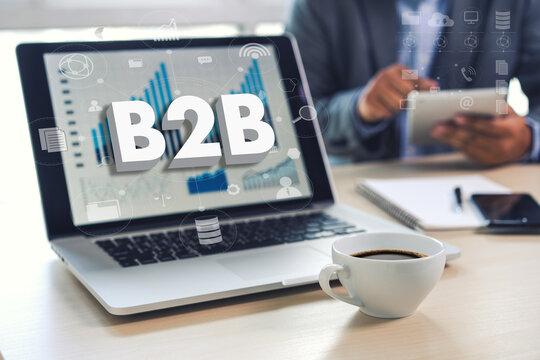 B2B Marketing Business To Business Marketing Company and B2B Business Company Commerce Technology Marketing
