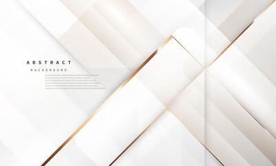 Obraz abstract background luxury white gold Modern - fototapety do salonu