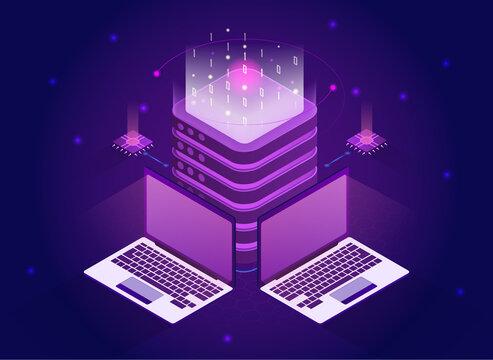 Isometric quantum computing or supercomputing.