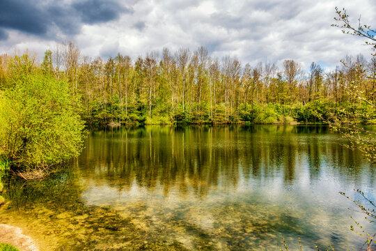 Tongrubenweiher bei Bonn-Röttgen