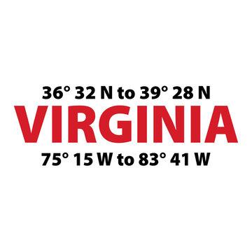 Virginia is for Lovers- Longitudinal and Latitudinal