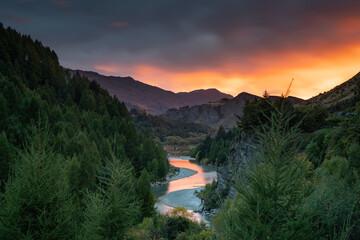 Queenstown New Zealand shot-over river NZ