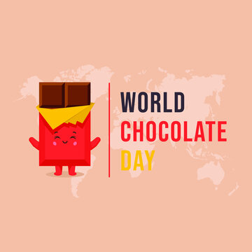 World Chocolate Day Text Template