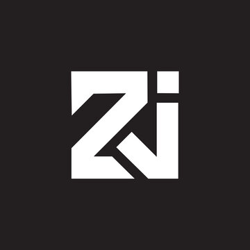 ZJ letter logo design on black background. ZJ creative initials letter logo concept.ZJ letter design.