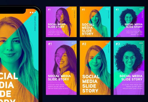 Duotone Social Media Set