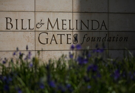 The Bill & Melinda Gates Foundation is pictured in Seattle