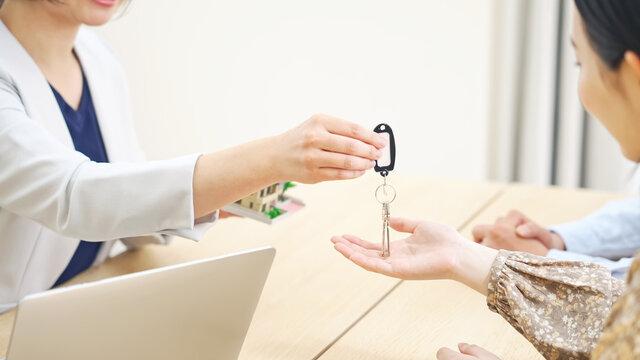 鍵の受け取り 不動産契約