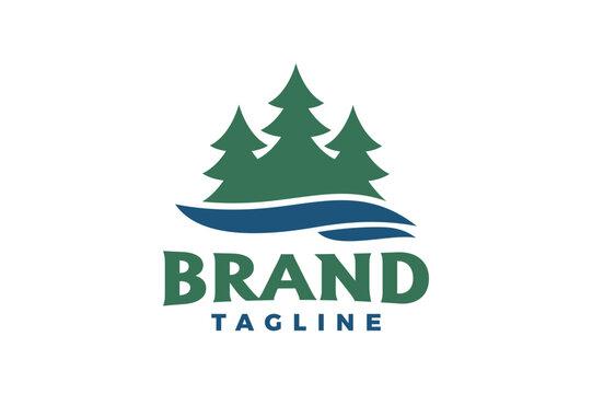 pine river logo