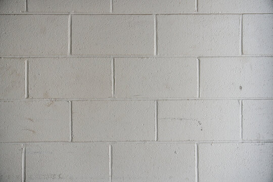 Painted Cinderblock wall texture