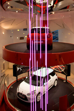 PARIS, FRANCE, MARCH, 27: Presentation of the new Citroen DS within the Official Citroen Showroom on the avenue of the Champs-Elysées in Paris, France, 2010.