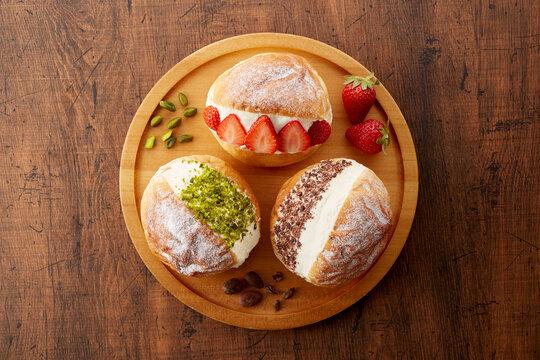 イタリア・ローマの伝統菓子「マリトッツォ」
