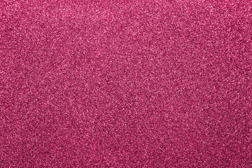 pink glitter glitter, close-up. Can be used as a background