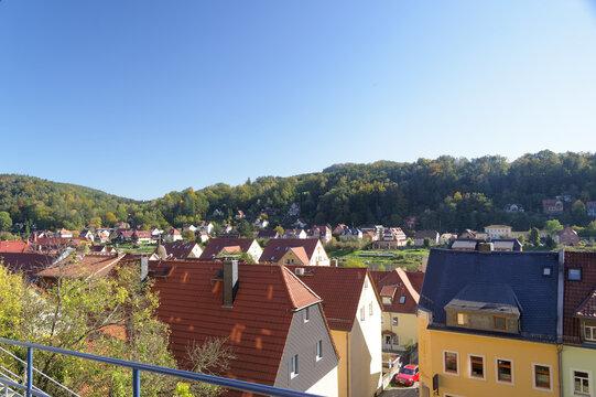 Stadtansicht Stadt Wehlen
