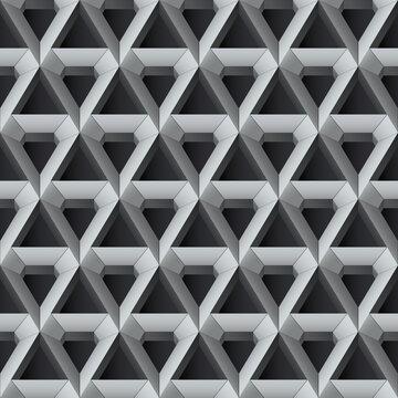 nahtlos Hintergrund, Tapete - Diamant-Dreiecke
