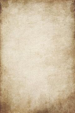 Old Simulating Vintage Paper Canvas Texture Grunge Vignetting Brown Background.