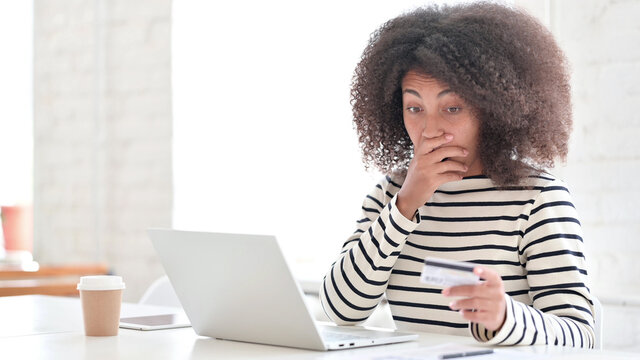 Online Payment Failure for African Woman, Credit Card