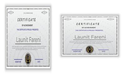 Fototapeta Certificate obraz