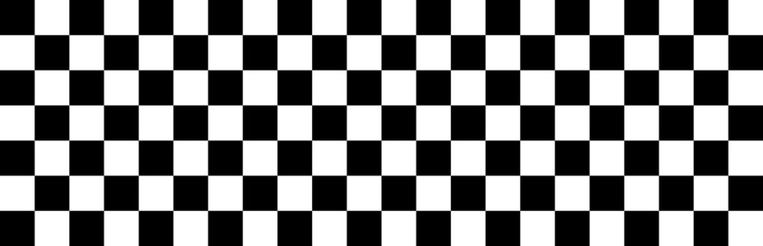 Checkered flag. Race background. Racing flag. Race. Banner seamless chessboard. Checker background - stock vector