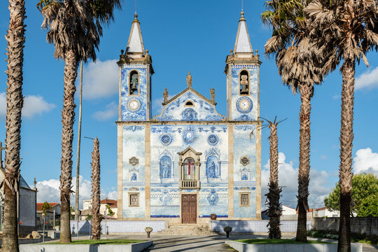 Church Santa Marinha in Cortegaca