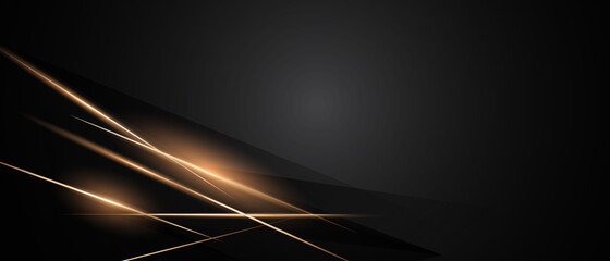 Fototapeta Abstract black background poster beauty with dynamic. technology network Vector illustration. obraz