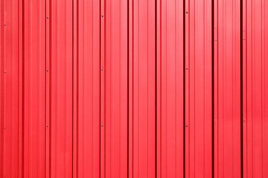 Red Metal Siding - full frame image background