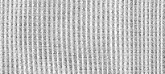 Obraz Panorama of White linen texture and background seamless or white fabric texture - fototapety do salonu